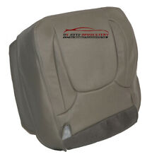 04-05 Dodge Ram Laramie 5.7L 4X4 Driver Bottom Synthetic Leather Seat Cover Gray