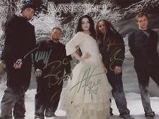 Evanescence 8.5x11 Signed Autograph RP [Mint]