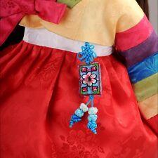 Dollmore doll accessory Square design norigae (Blue)