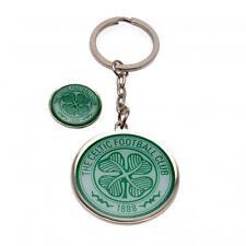 Celtic Fc Keyring & Badge Set Football Soccer Scottish League Teams