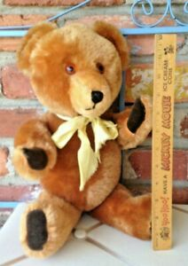 Vintage Neiman Marcus Mohair Teddy Bear - Fully Jointed & Musically Declined!