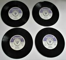4 DECCA DEMO RECORDS ROBIN SARSTEDT,SWEET SUBSTITUTE,STREETS AHEAD,BOUZOUKI BAND