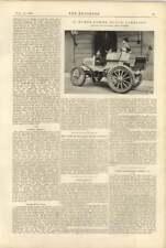 1900 12 Hp Motor Carriage Panhard Lavassar David Morgan Aberdare