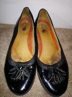 Good condition worn black clarks pumps size UK 7