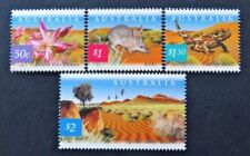 2002 Australia Decimal Stamps - Nature of Australia Desert - MNH set of 4