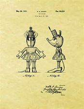 Display Art Print US PATENT for MINNIE MOUSE MICKEY MOUSE Walt Disney 1931