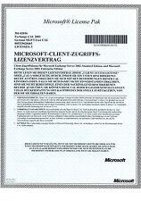 5 User CALs für Microsoft Exchange 2003 Server mit MWST-Rechnung