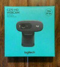 LOGITECH HD Webcam C270 - Black *in hand - 2 day ship