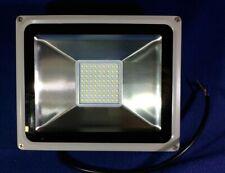 LED 50W Security Floodlight - Cold White Light - Grey Casing, 240V ( Brand New )