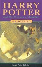 Harry Potter And The Prisoner Of Azkaban (Book 3)(Large Print Edition), By Rowli