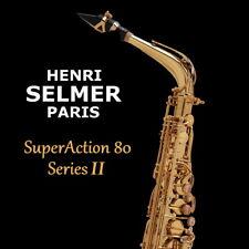 NEW Selmer Paris Super Action 80 Series II Jubilee Alto Saxophone BrassBarn