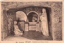 BF13990 averbode m,ariapark interieur du tombeau christ belgium front/back image