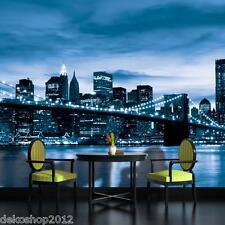 Fototapete Fototapeten Tapete Tapeten Poster NY NEW YORK BROOKLYN BRIDGE  229 P4