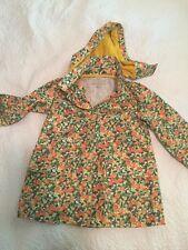 Girls Stella McCartney Oranges And Lemons Raincoat Jacket Size 3