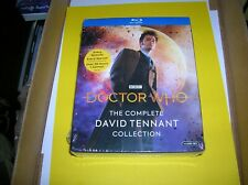 Doctor Who: The Complete David Tennant Collection Blu-ray box set New / Sealed!