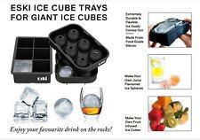 Eski Giant Ice Ball Maker Set Ice Cube Tray Cocktails Whiskey chocolate mold