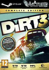 DiRT 3 Complete Edition Steam Key GLOBAL (Ebay Message Delivery)