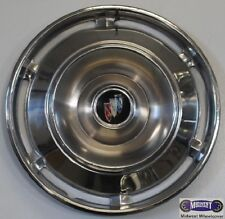 """'61 BUICK PASSENGER, EXCEPT ELECTRA 225. USED 151"""" HUBCAP, FLAG LOGO,  A5"""