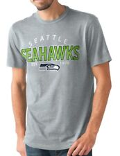 """Seattle Seahawks NFL G-III """"Playoff"""" Men's Dual Blend S/S T-shirt - Graphite"""