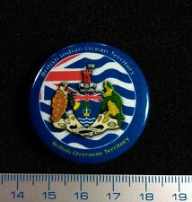 British Indian Ocean Territory.Pin Badge Litho Métal 100 PIECES ONLY
