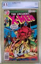 "X-Men #116 (Marvel, 12/78) PGX 8.5 VF+ Wolverines healing factor reveal ""KEY"""
