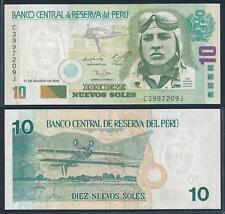 [73206] Peru 2005 10 Nuevos Soles Bank Note UNC P17a