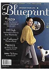 BRAND NEW 2006 BLUEPRINT MAGAZINE #2 Issue Martha Stewart Living Publication