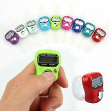 Tally Finger Ring LCD Display Stitch Marker and Row Counter for Knitting Crochet