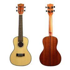 Kala KA-SCG Acoustic Concert Ukulele, Natural Gloss Solid Spruce Top