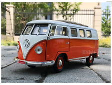 1/18 1962 Volkswagen VW Microbus Road Signature Diecast Model Car Toys Gifts