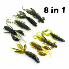 Worm Jig Tackle Practical Swivel Bait Soft Lures Fishing
