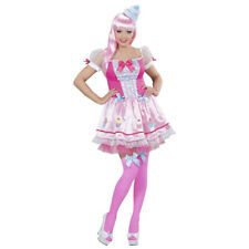 Lollipop Cupcake Costume Ladies Candy Girl Outfit Sweet Sugar Fancy Dress S