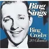 Bing Crosby - Bing Sings - 20 Classics - CD Album (2002)