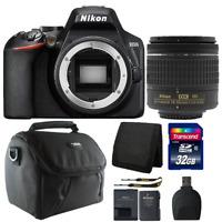 Nikon D3500 24.2MP Digital SLR Camera +  18-55mm Lens + 32GB Accessory Kit