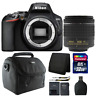 Nikon D3500 24.2MP Digital SLR Camera +  18-55mm Lens + 32GB Accessory Kit
