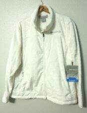 Free Country Butter Pile Fleece Jacket Women's XXL Zip Front Soft Warm White NWT