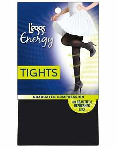 L'eggs Energy Collection Opaque Tights graduated compression 360-degree support