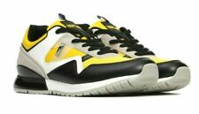 Replay orient Box Designer Tennis Shoes Black Yellow white Leather UK size 8