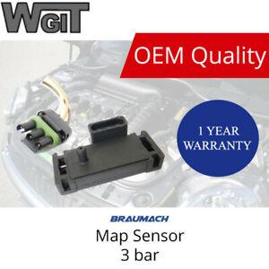 Universal Fit GM Style 3 BAR MAP Sensor for Megasquirt 2 3 ECUs