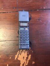 Sony 'TheMars bar' vintage mobile Cellular phone. CM-H333