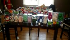 RARE TY Original Beanie Babies And Bears With Errors From 1990s Lot Of 131