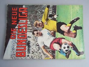 Sammelbilderalbum Die neue Bundesliga 1965 Fussball Stickeralbum K150820A