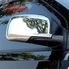 Chrome Door Side Mirror Cover Trim For Dodge Journey Fiat Freemont 13-17