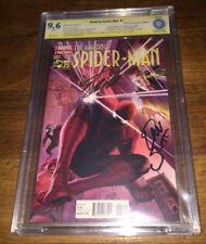 Amazing Spider-man #1 ALEX ROSS 1:75 VARIANT SIGNED STAN LEE & SLOTT -SILK