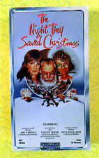 The Night They Saved Christmas ~ VHS Movie ~ Rare Art Carney Holiday Video Tape