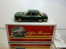 TOGI 8/65 ALFA ROMEO GIULIA GT - DARK GREEN 1:23 - EXCELLENT CONDITION IN BOX