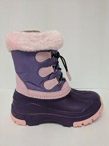 Nova Mountain Winter Snow Boots, Purple/Pink, Little Kids 3 M