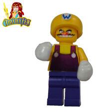 LEGO Super Mario Character Wario Custom minifigure