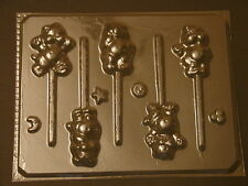 Carebears Lollipop Chocolate Candy Soap Crayon Mold