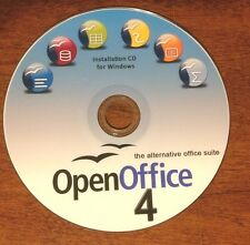 OpenOffice 4 (Windows) Office Suite 2010 2013 Professional Home School Business